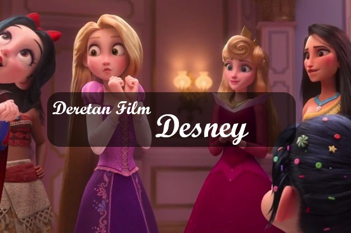 deretan film disney
