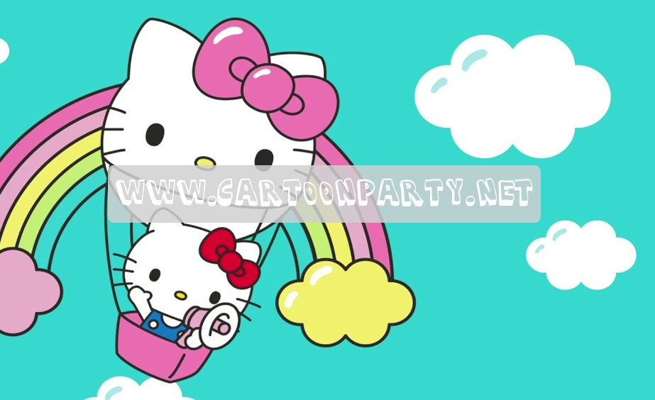 hello kitty Karakter Film Kartun